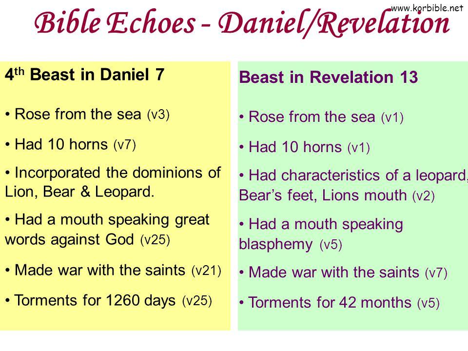 Bible Echoes - Daniel/Revelation