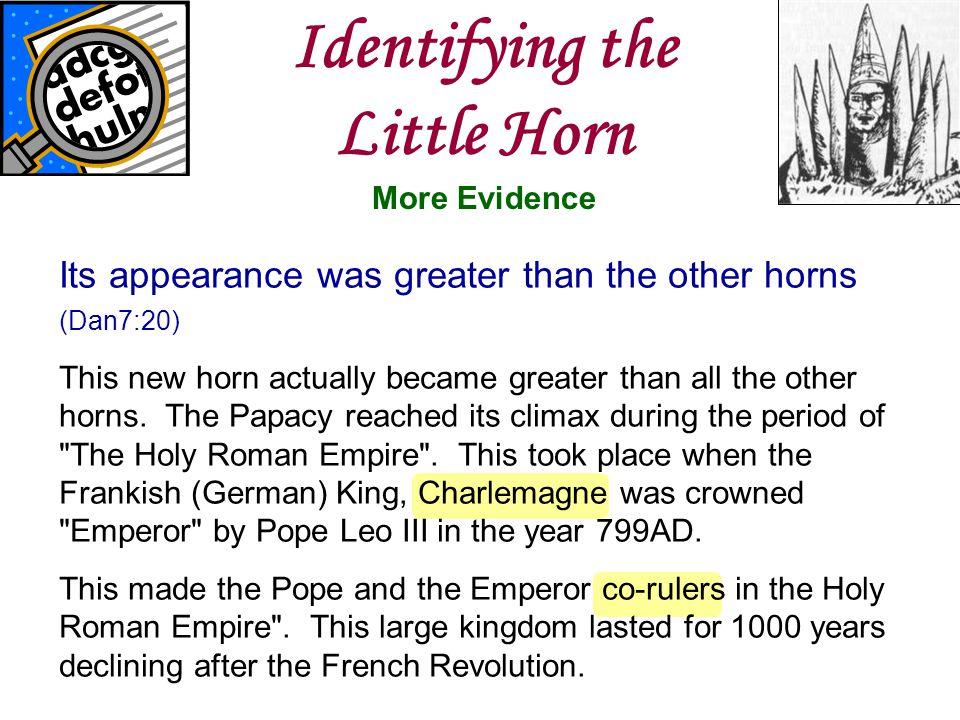 Identifying the Little Horn
