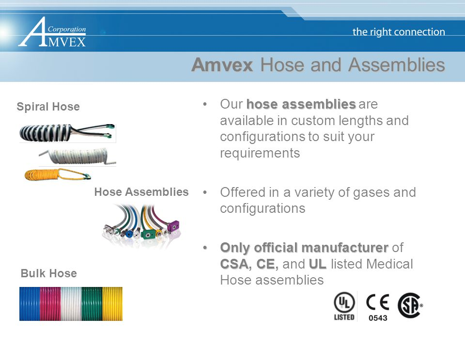 Amvex Hose and Assemblies