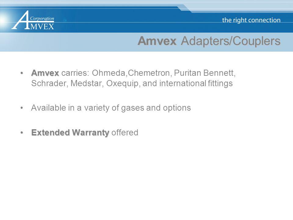 Amvex Adapters/Couplers