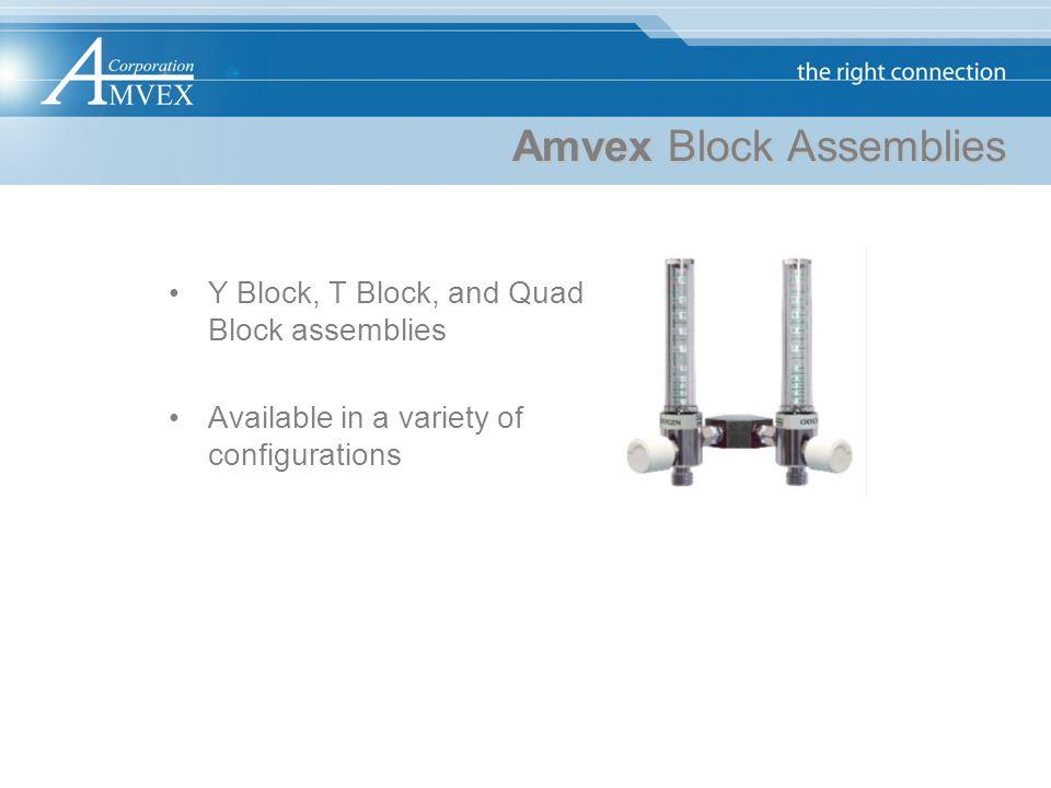 Amvex Block Assemblies