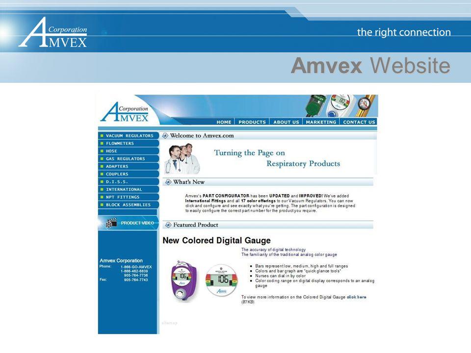 Amvex Website
