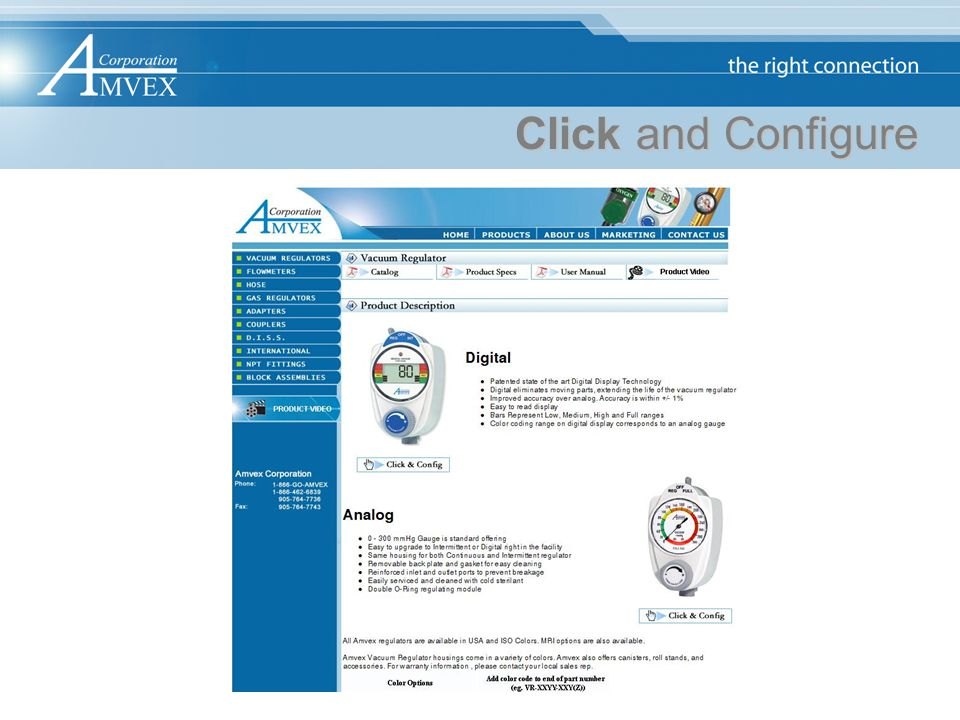 Click and Configure