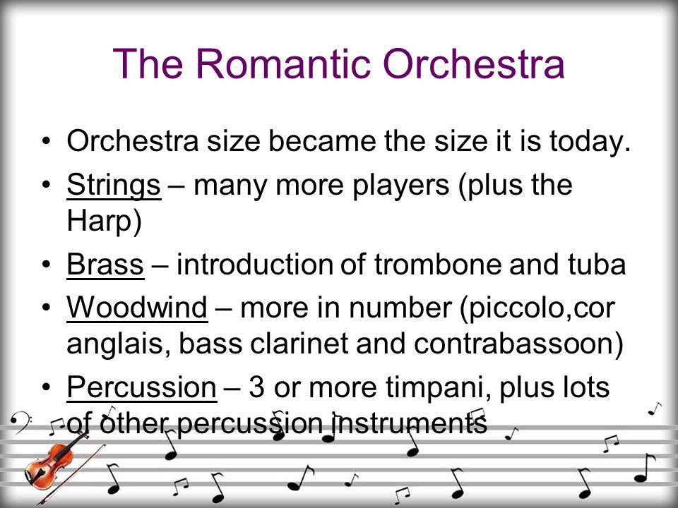 The Romantic Orchestra