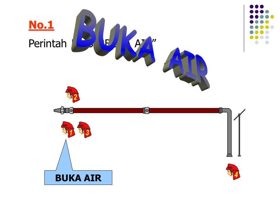 No.1 BUKA AIR Perintah No.3, BUKA AIR BUKA AIR