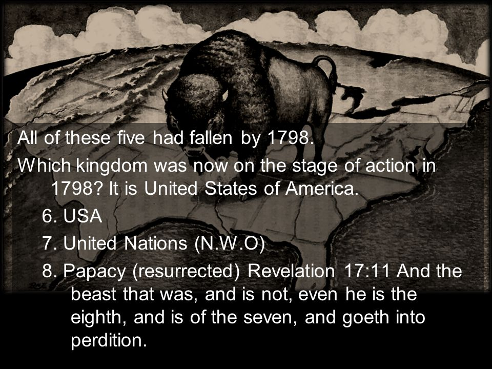 All of these five had fallen by 1798.