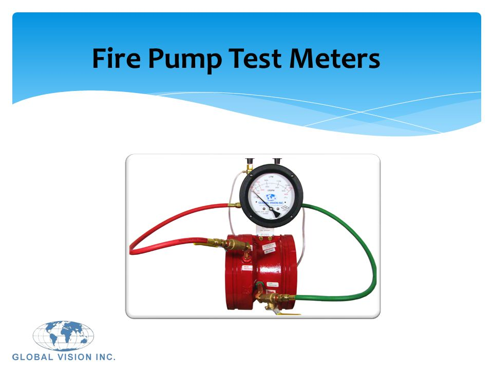 Fire Pump Test Meters