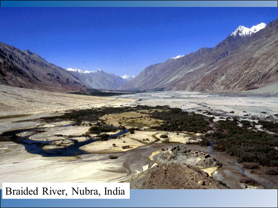 Braided River, Nubra, India