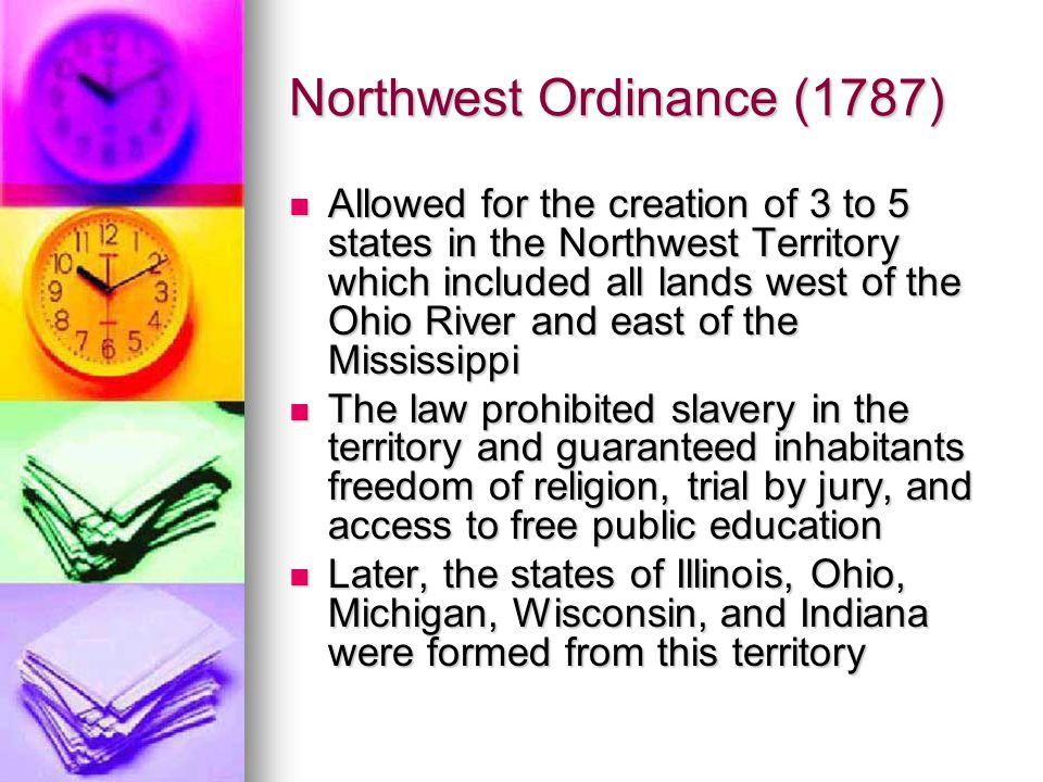 Northwest Ordinance (1787)