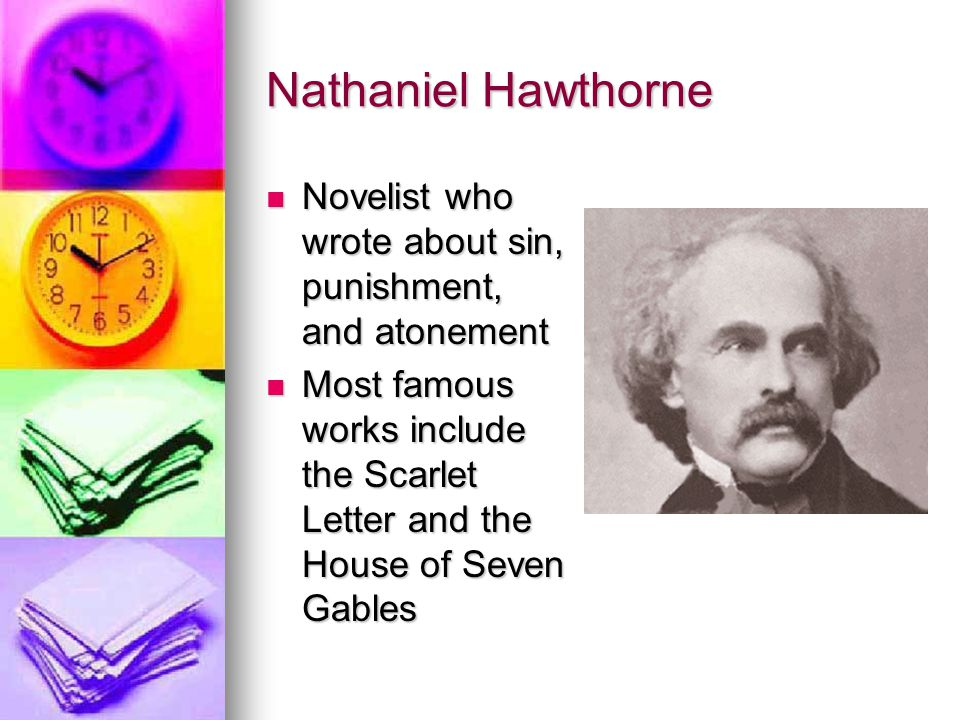 Themes of punishment and death in the scarlet letter by nathaniel hawthorne