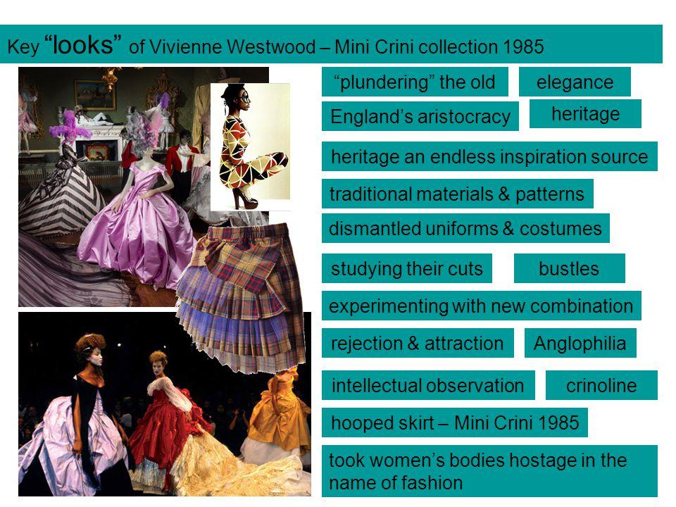 Key looks of Vivienne Westwood – Mini Crini collection 1985