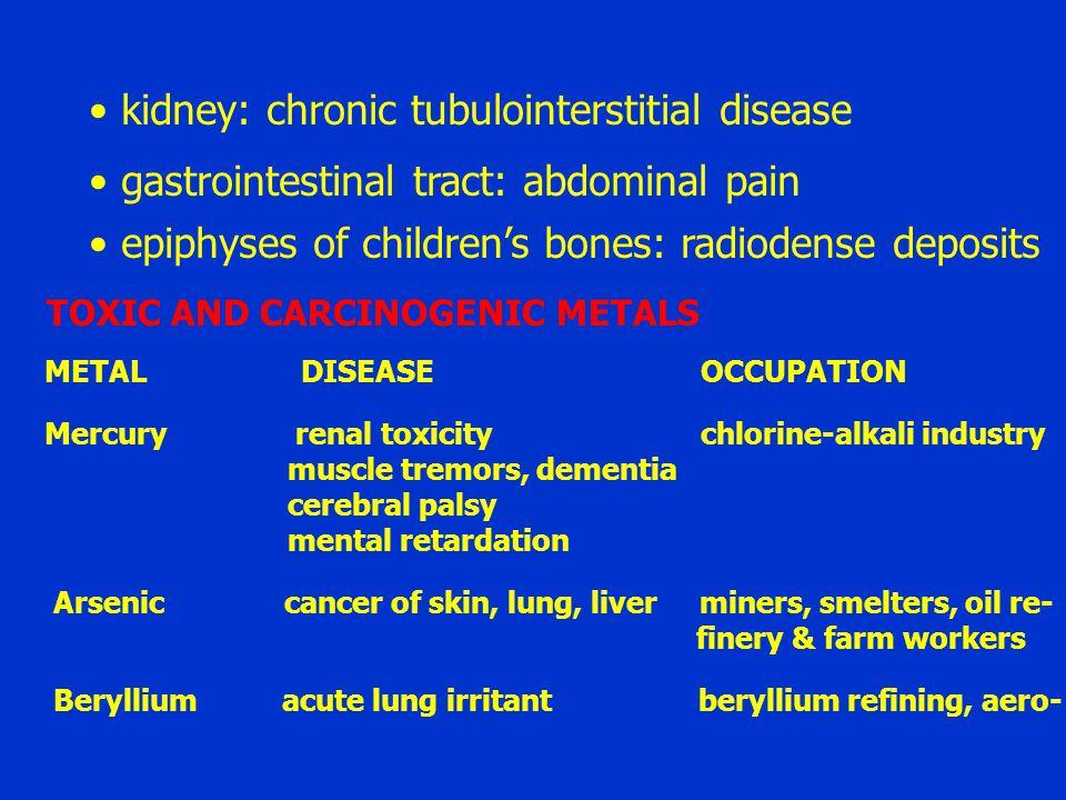 kidney: chronic tubulointerstitial disease