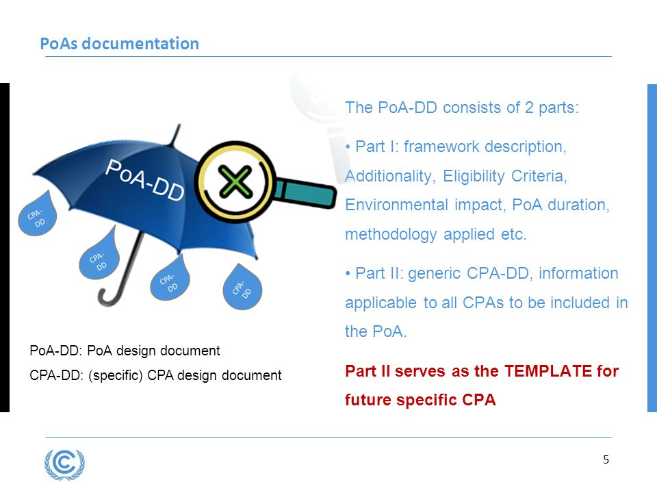 PoAs documentation