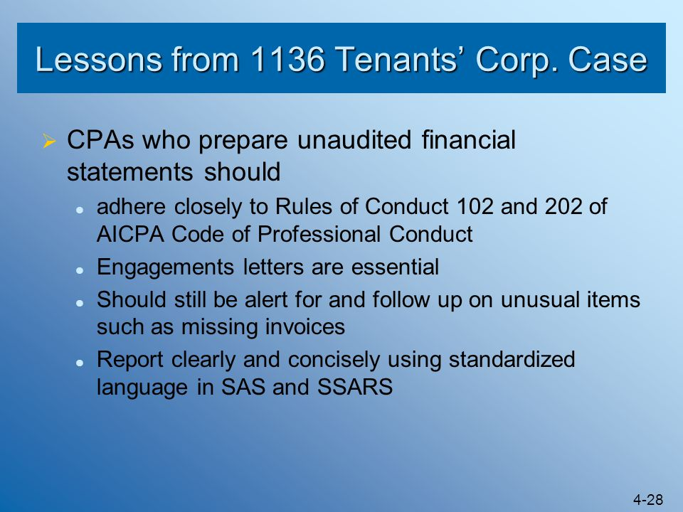Lessons from 1136 Tenants' Corp. Case