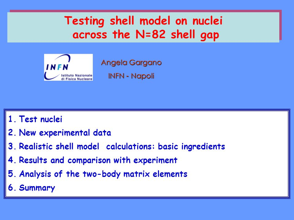 Testing shell model on nuclei