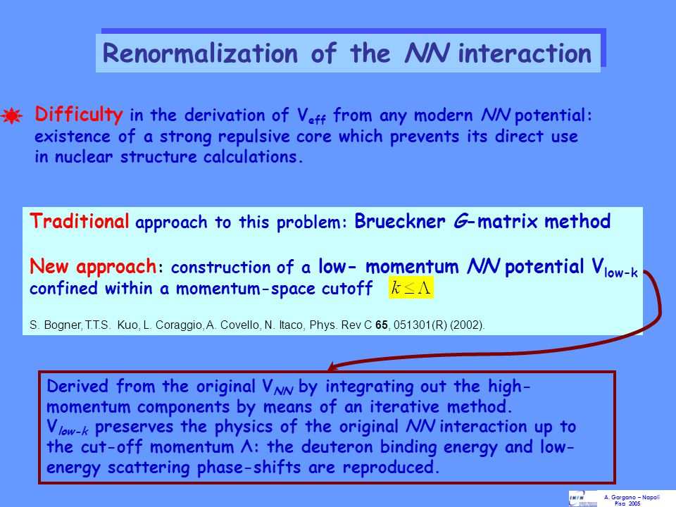 Renormalization of the NN interaction
