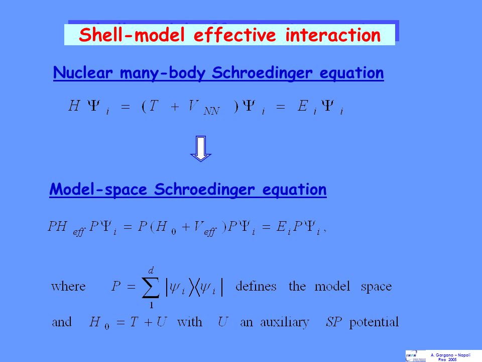 Shell-model effective interaction