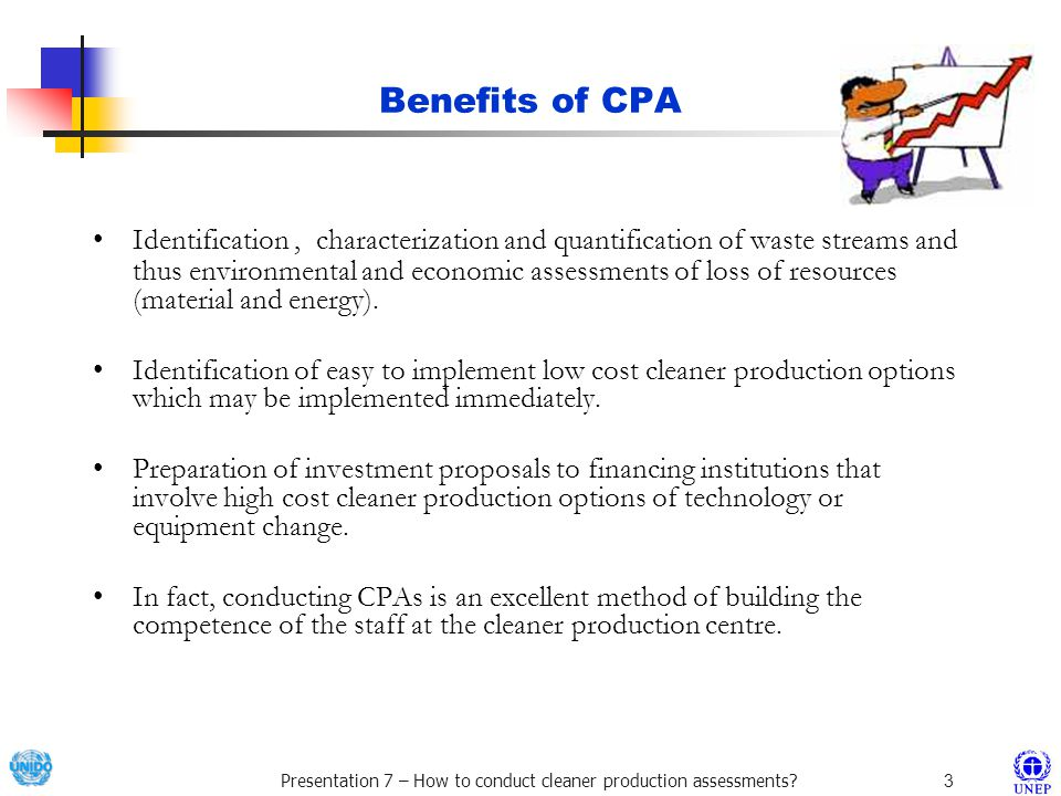 Benefits of CPA