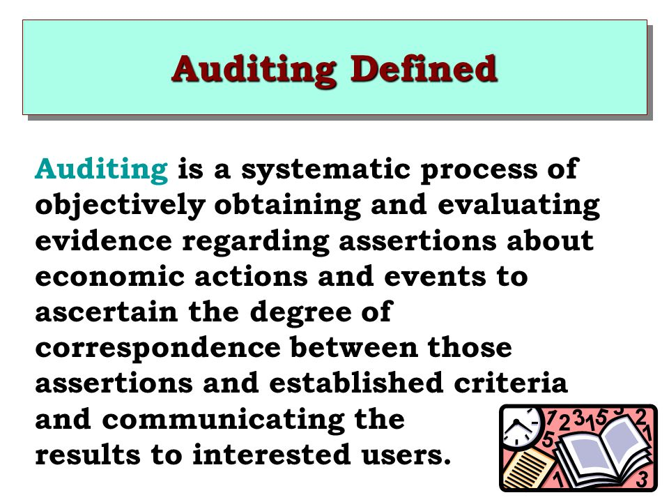 Auditing Defined