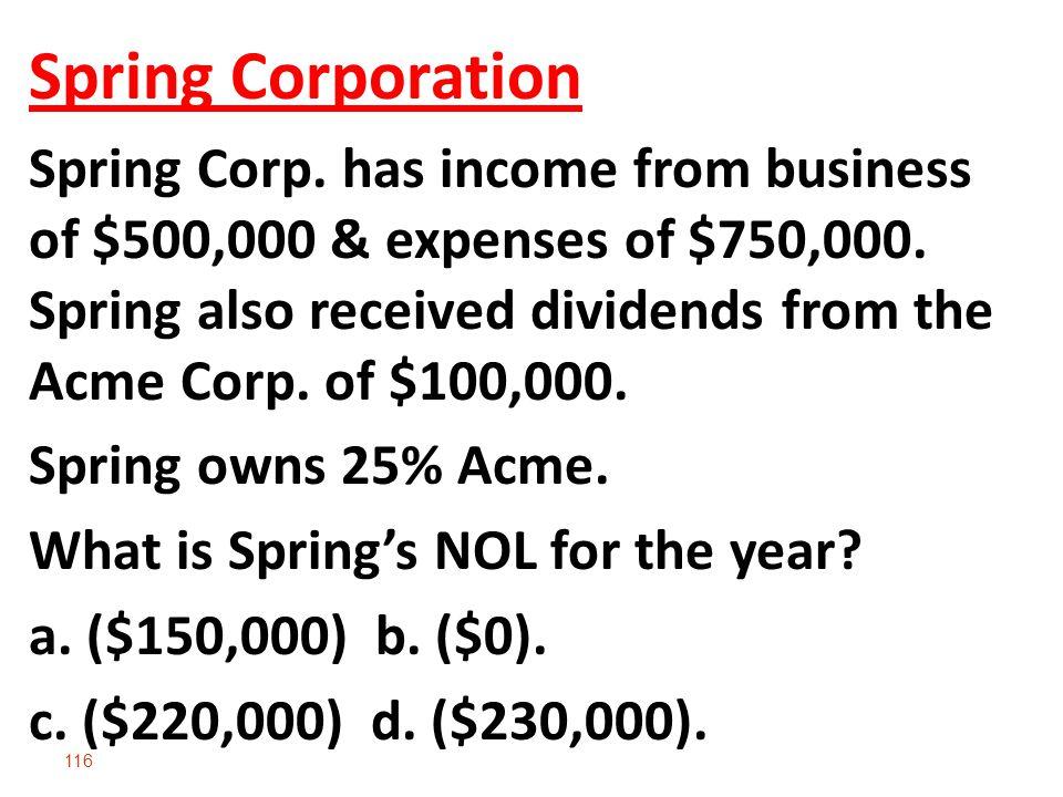 Spring Corporation
