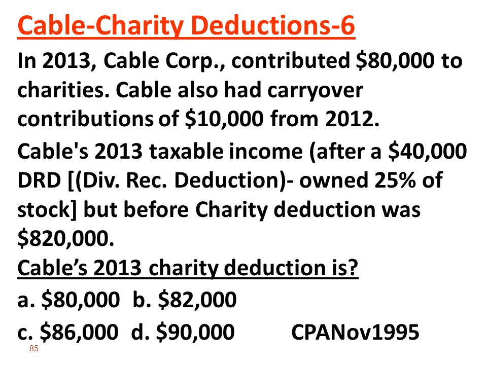Cable-Charity Deductions-6