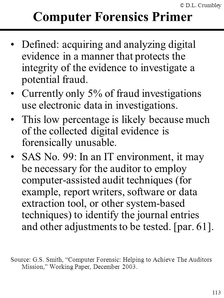 Computer Forensics Primer