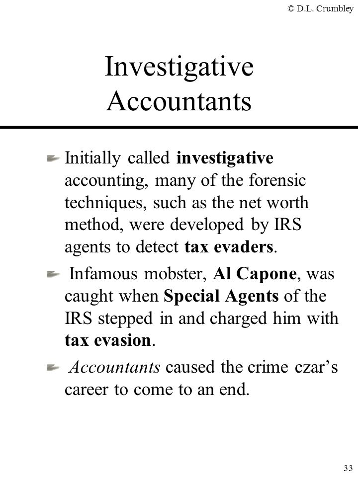Investigative Accountants