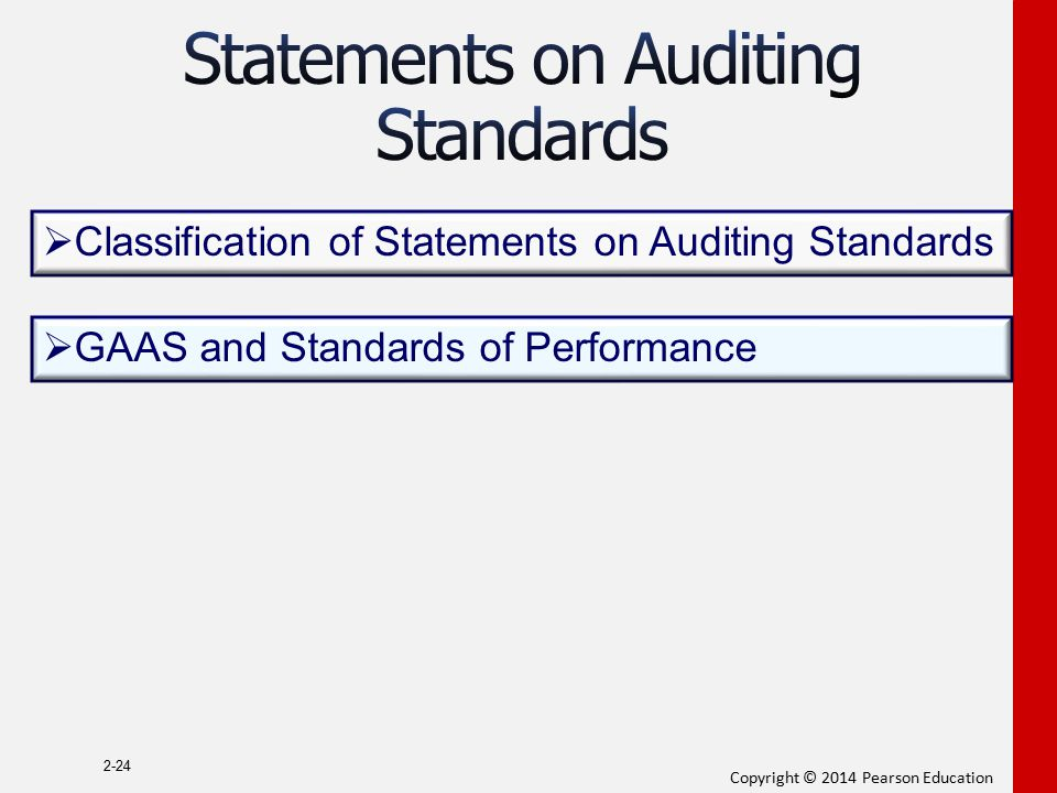 Statements on Auditing Standards