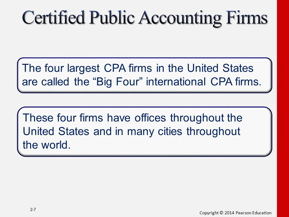 Certified Public Accounting Firms