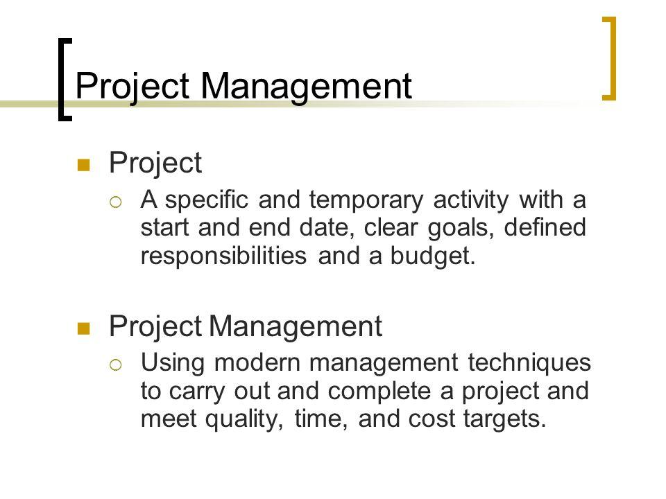 Project Management Project Project Management