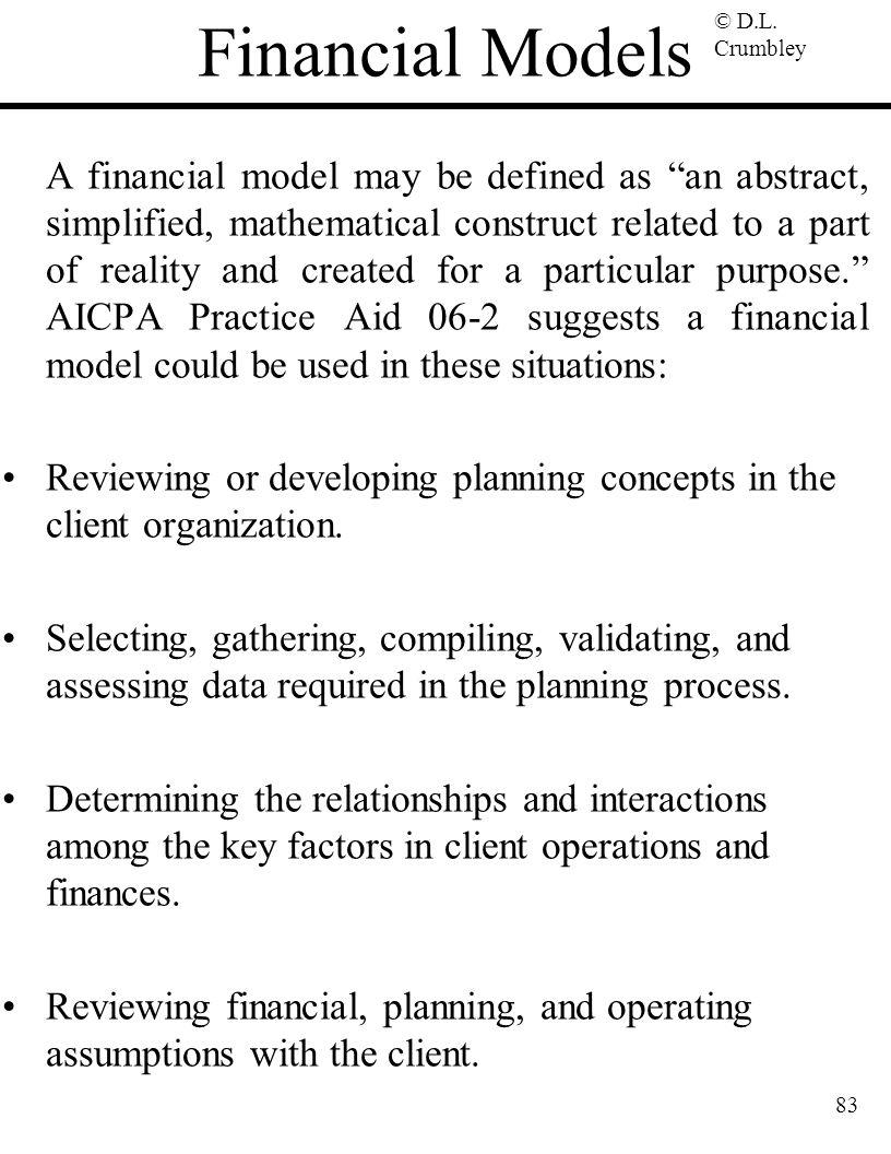 Financial Models