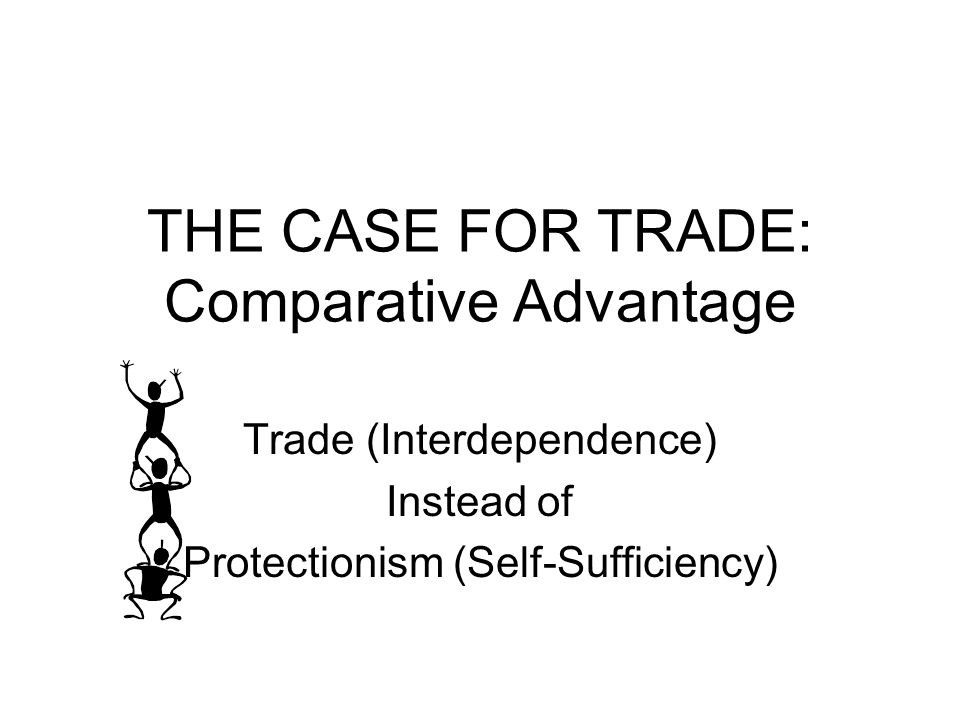 THE CASE FOR TRADE: Comparative Advantage