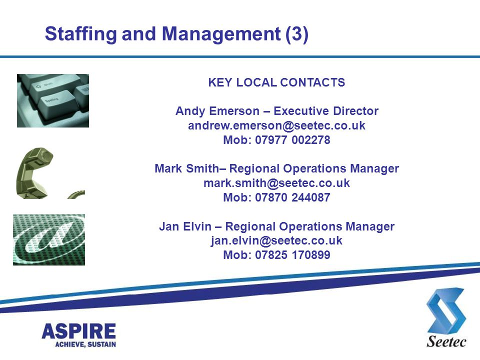 Staffing and Management (3)