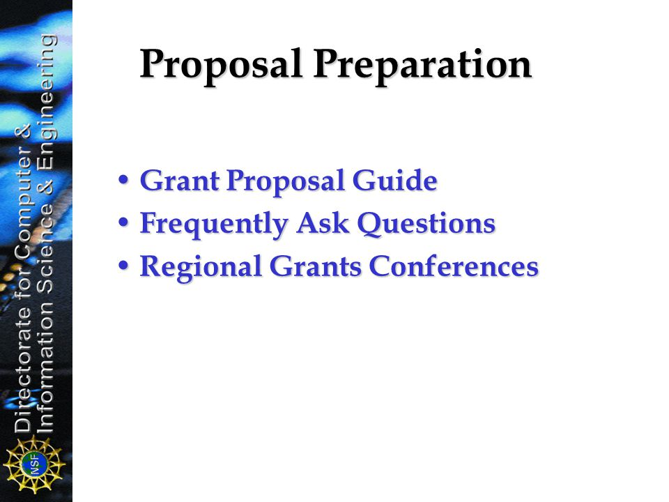 Funding Opportunities At Nsf Ppt Video Online Download