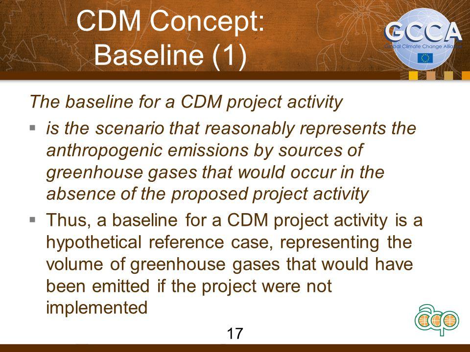 CDM Concept: Baseline (1)