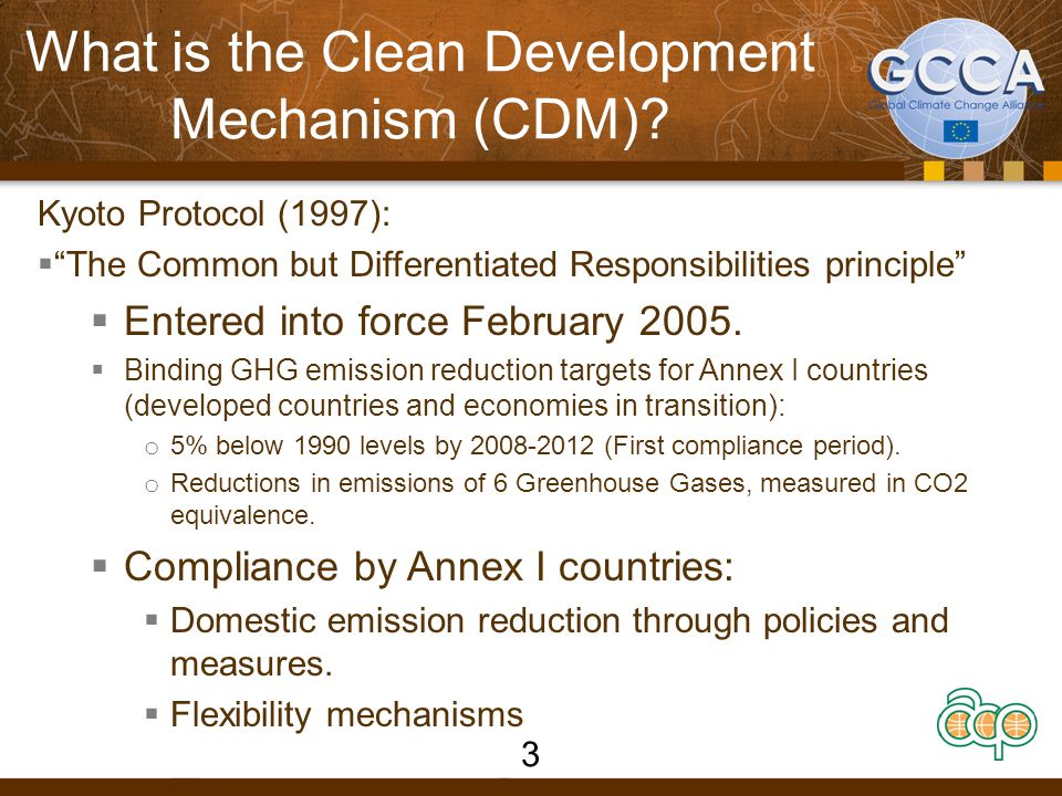 What is the Clean Development Mechanism (CDM)