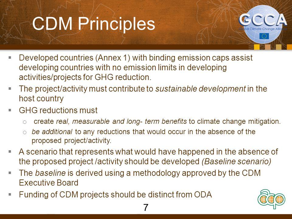 CDM Principles