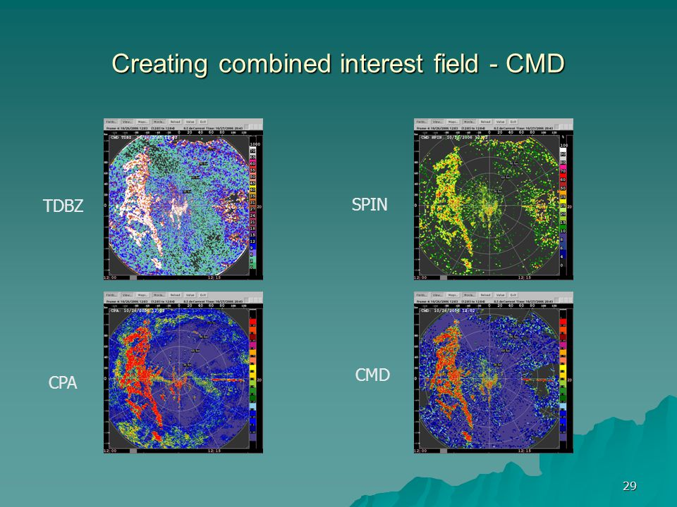 Creating combined interest field - CMD