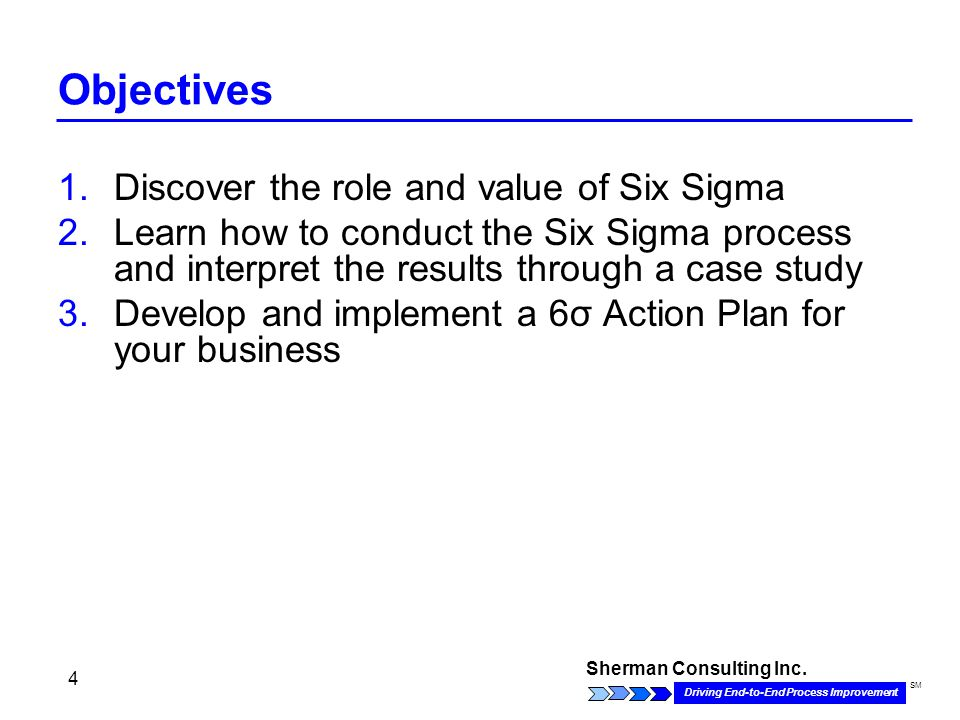 what role should six sigma play Suppose you just completed a six sigma project on which you were either a  champion,  you can be totally honest at this meeting your voice will be  electronically  would say many small parts play a roughly equal role in the  improvement.