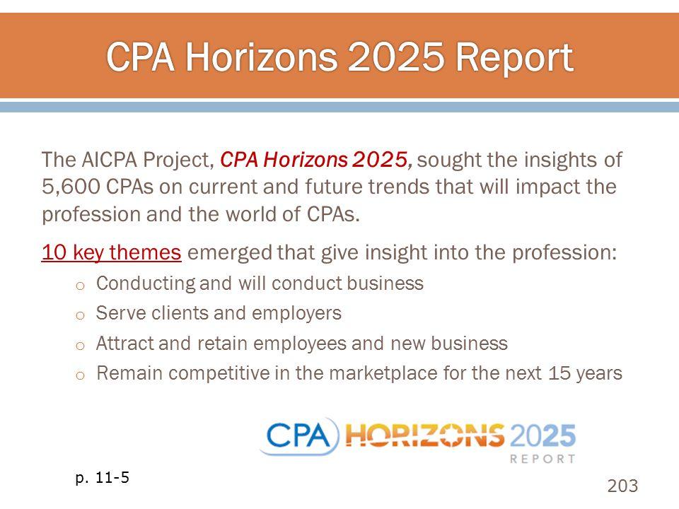 CPA Horizons 2025 Report