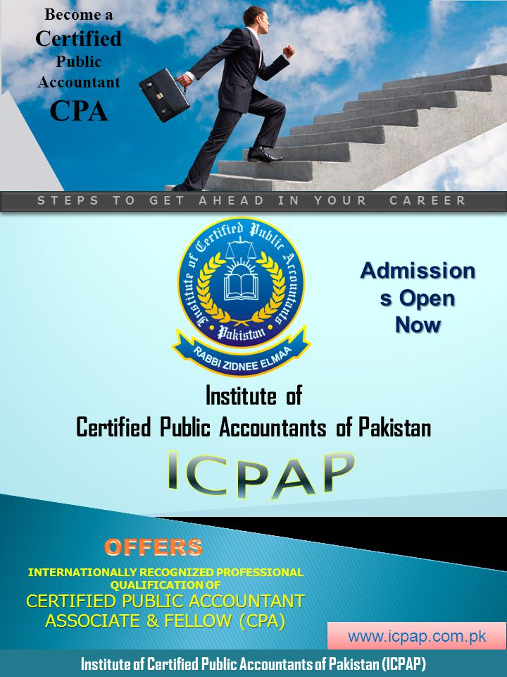 ICPAP CPA Institute of Certified Public Accountants of Pakistan