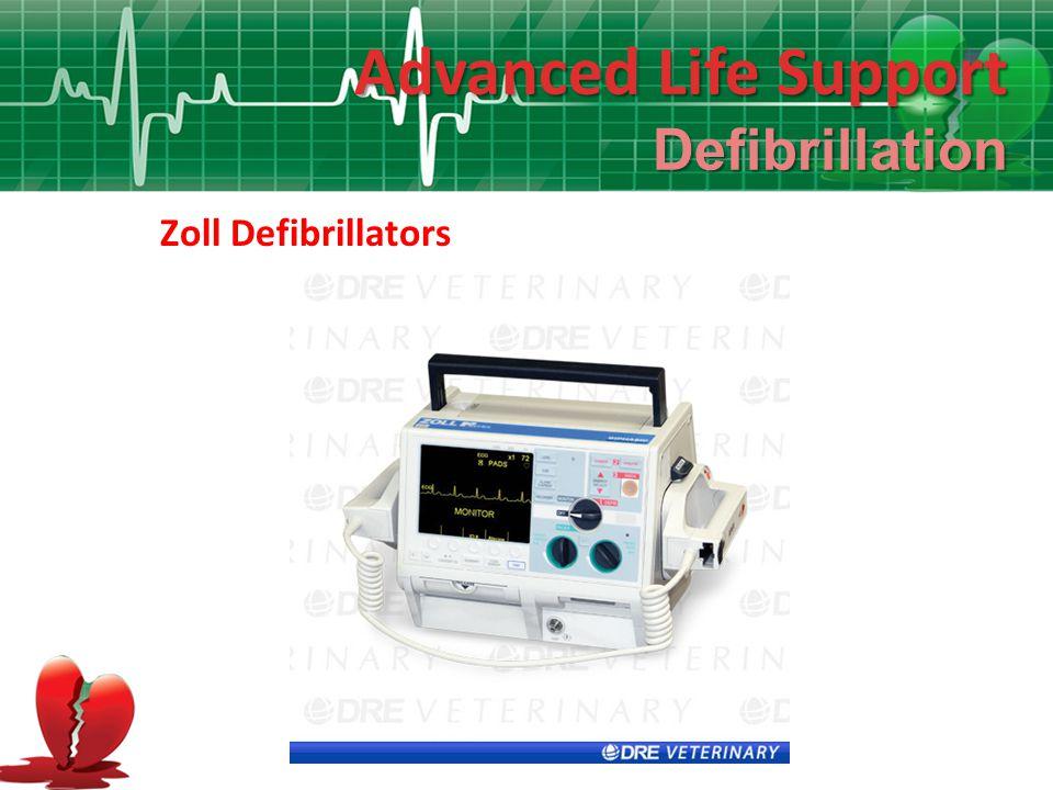 Advanced Life Support Defibrillation Zoll Defibrillators