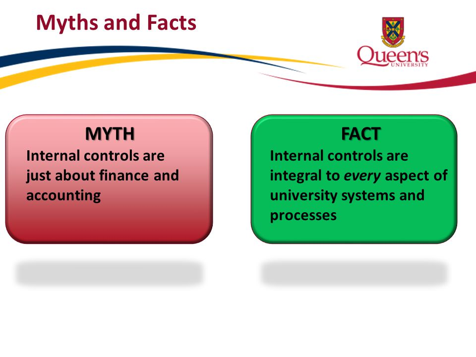Myths and Facts MYTH FACT