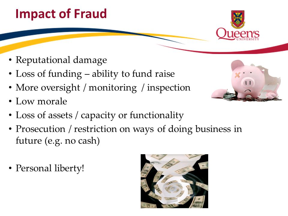 Impact of Fraud Reputational damage