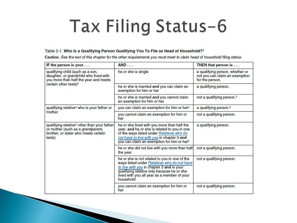 Tax Filing Status-6