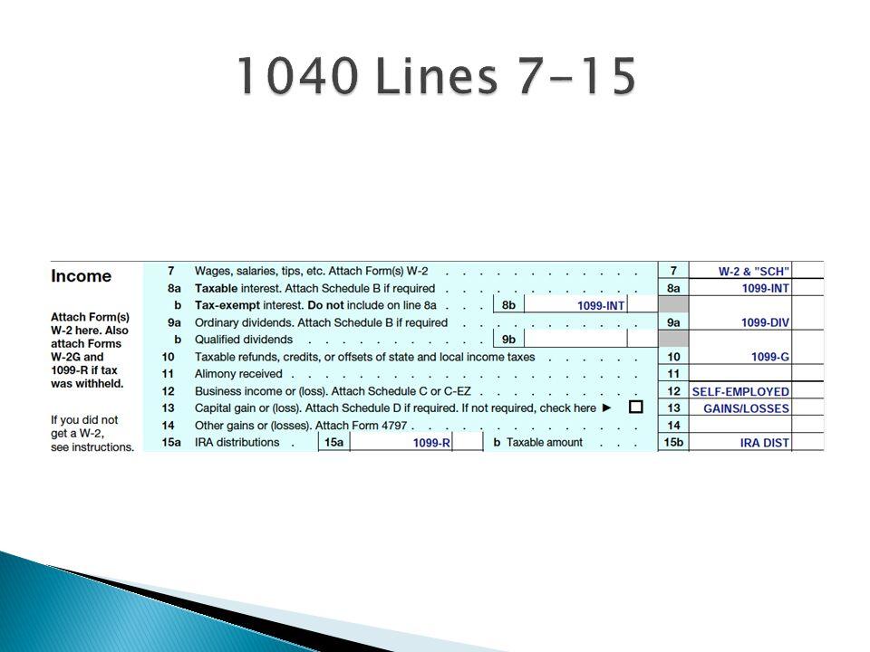 1040 Lines 7-15