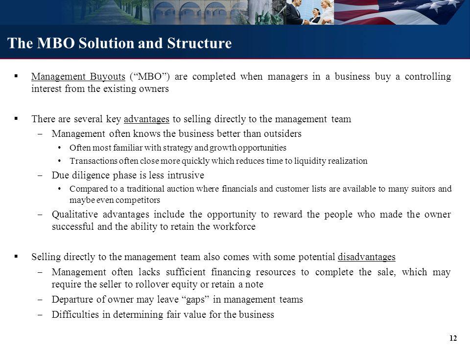 Cox Transportation Services (Management Buyout)