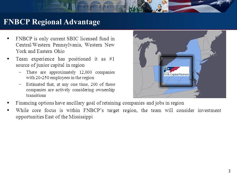 FNBCP Investment Criteria