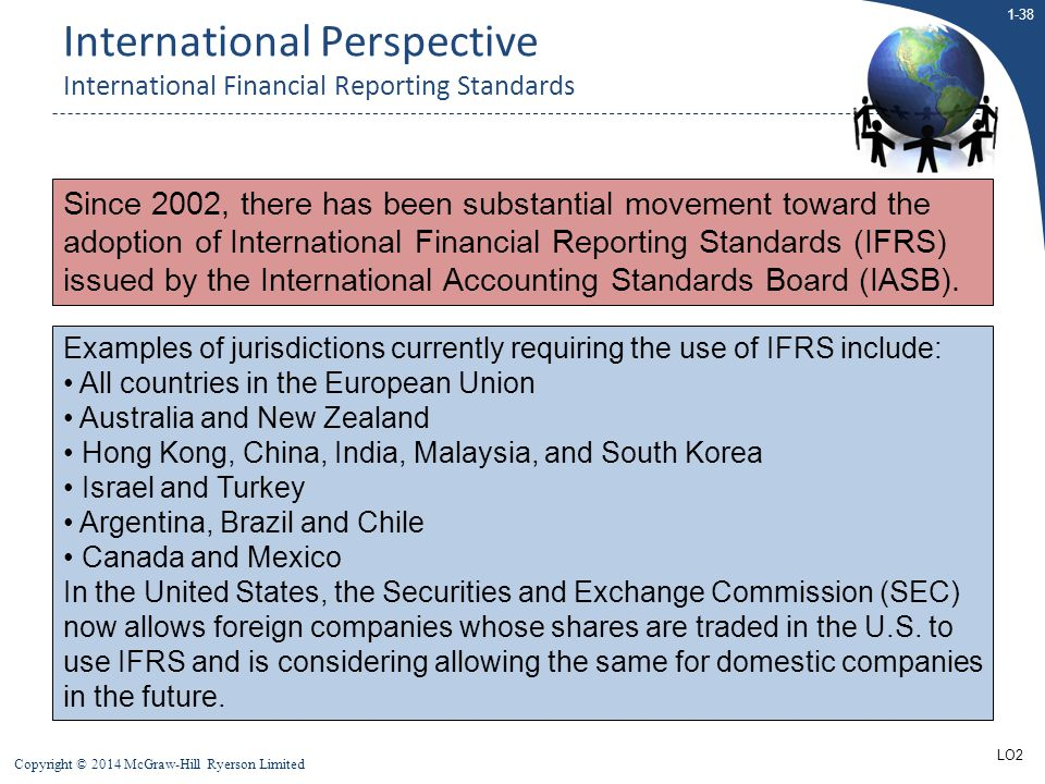 International Perspective International Financial Reporting Standards