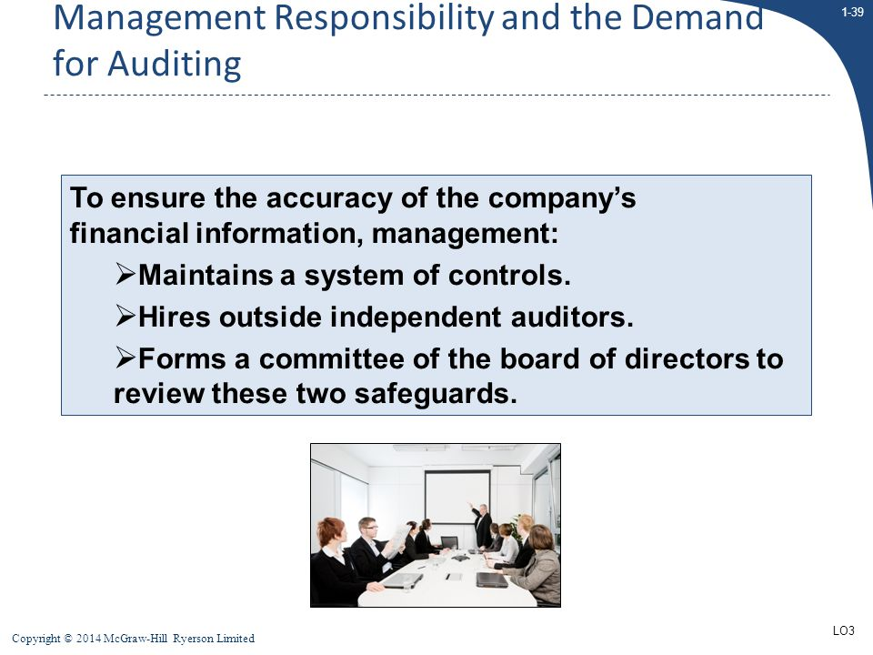 Management Responsibility and the Demand for Auditing
